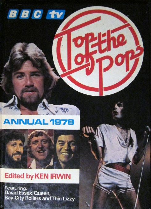 BBC Top of the Pops Annual 1978 cover