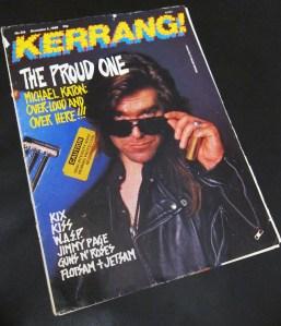 Kerrang! December 1988 216 Michael Katon