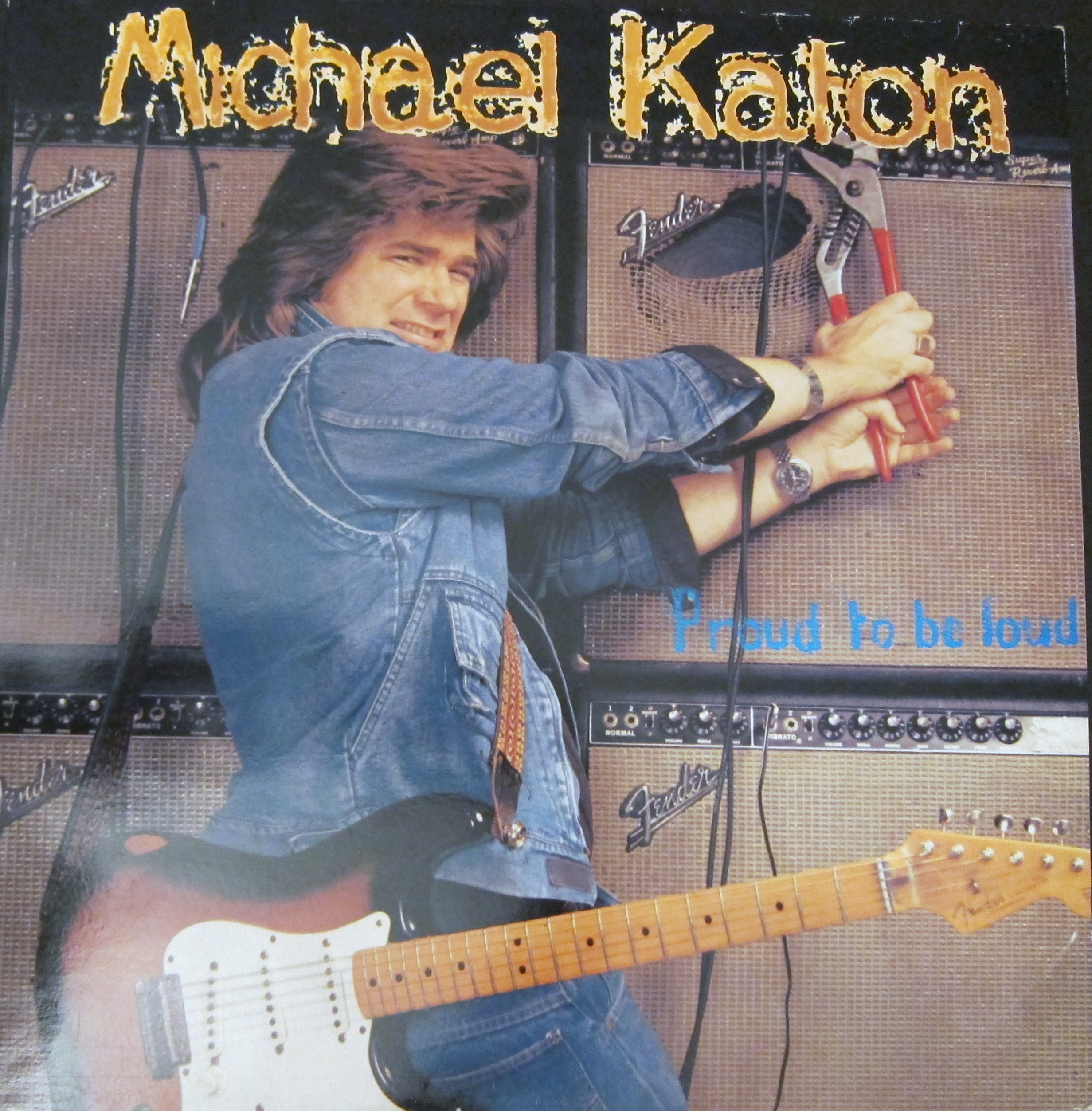 """Every record tells a story  Rock's Great """"Lost"""" Albums of The Eighties #4: Michael Katon – Proud To BeLoud"""