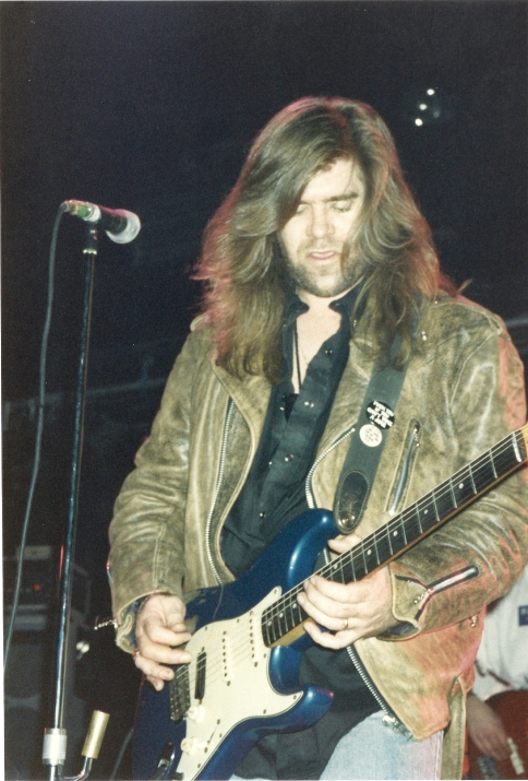 Michael Katon in 1988 at The Marquee Picture by Every Record Tells A Story
