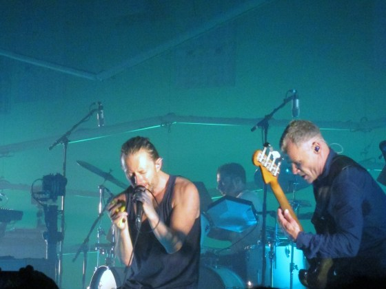 Thom Yorke and Flea of Atoms For Peace