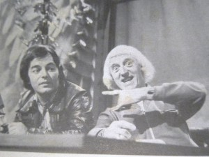 Blackburn tells Savile to keep his hands where he can see them...