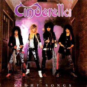 The wonderful Cinderella's debut album cover