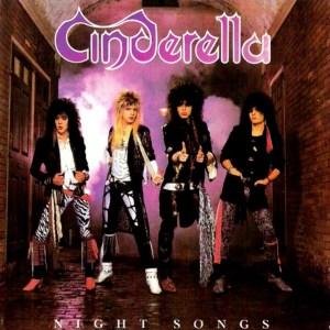 The wonderful Cinderella's debut album cover
