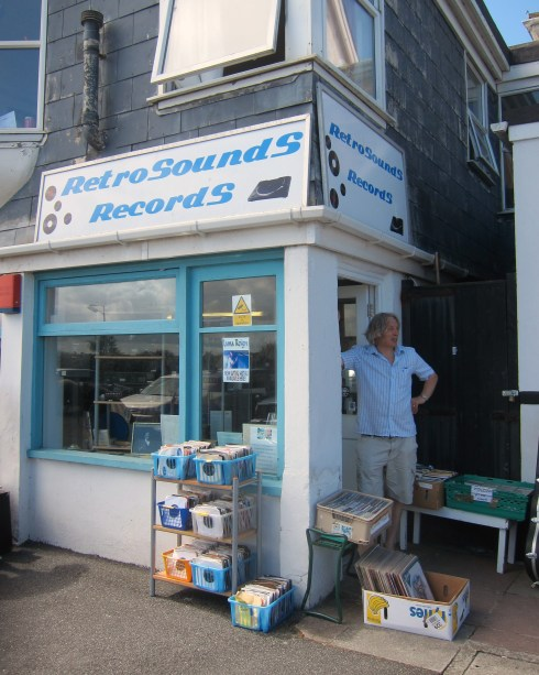 Small but perfectly formed: Retro Sounds Records in Newquay, Carnwall