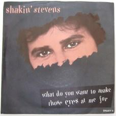 Shakin's Stevens eyes