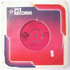 The Kinks You Really Got Me Pye single