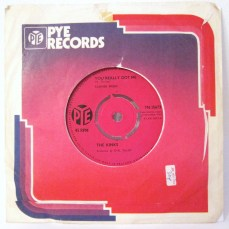 The Kinks You Really Got Me Pye single