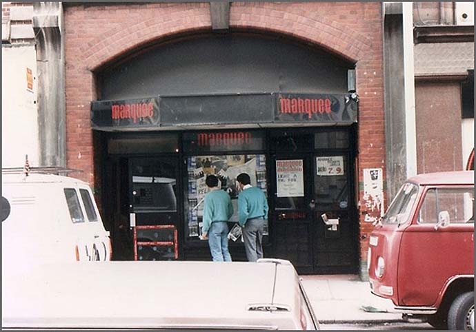 The marquee club wardour St London – Every record tells a story