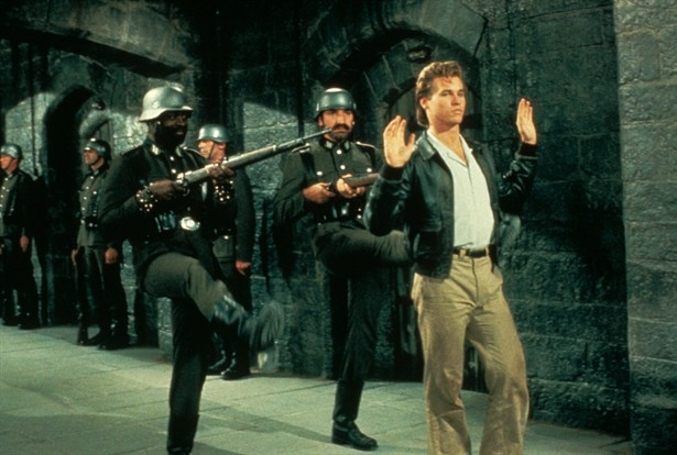 Val Kilmer in one of the greatest films ever. Seriously.