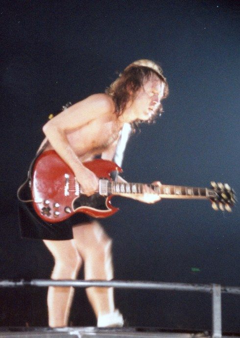 Angus Young ACDC Live Wembley Arena