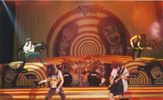 Anthrax at Hammersmith 1989: All pictures by Every Record Tells A Story