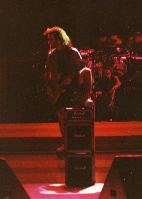 Anthrax live mini amp Hammersmith 1989