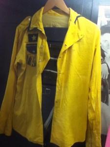 Clash yellow jacket