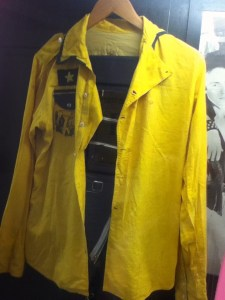 Clash yellow jacket