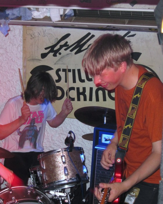 Eoin and Rory Loveless of Drenge at St Moritz Club