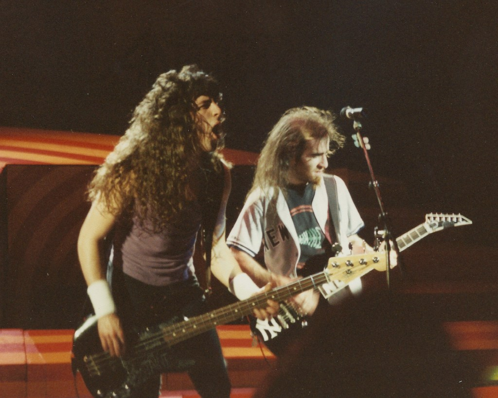 Frank Bello Scott Not Ian Anthrax Hammersmith 1989