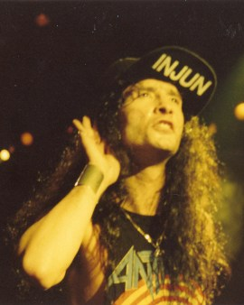 Joey Belladonna of Anthrax