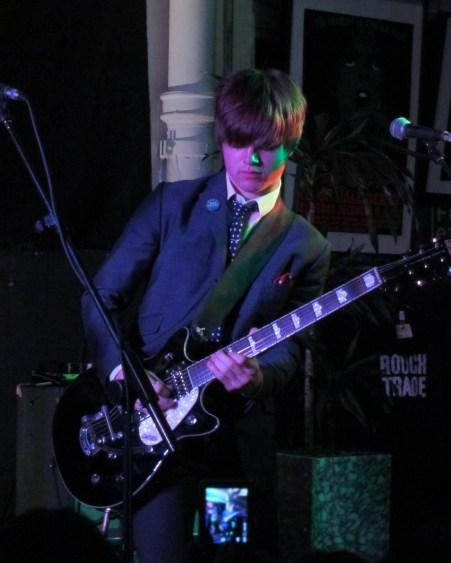 Josh McLorley of The Strypes