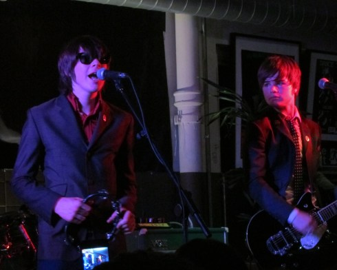 Ross Farrelly and Josh McLorley of The Strypes