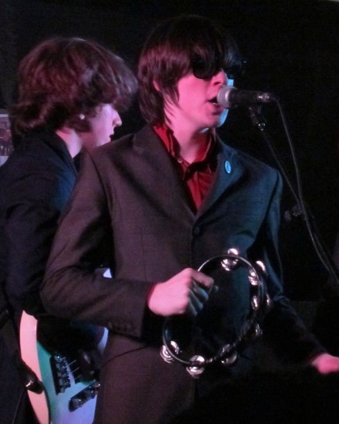 Ross Farrelly and Pete o Hanlon of The Strypes