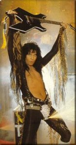 Blackie Lawless Flaming codpiece