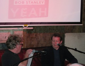 Bob Stanley (right) talks to David Hepworth