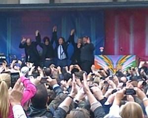 Paul McCartney Covent Garden