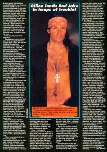 Ray Gillen Badlands Kerrang