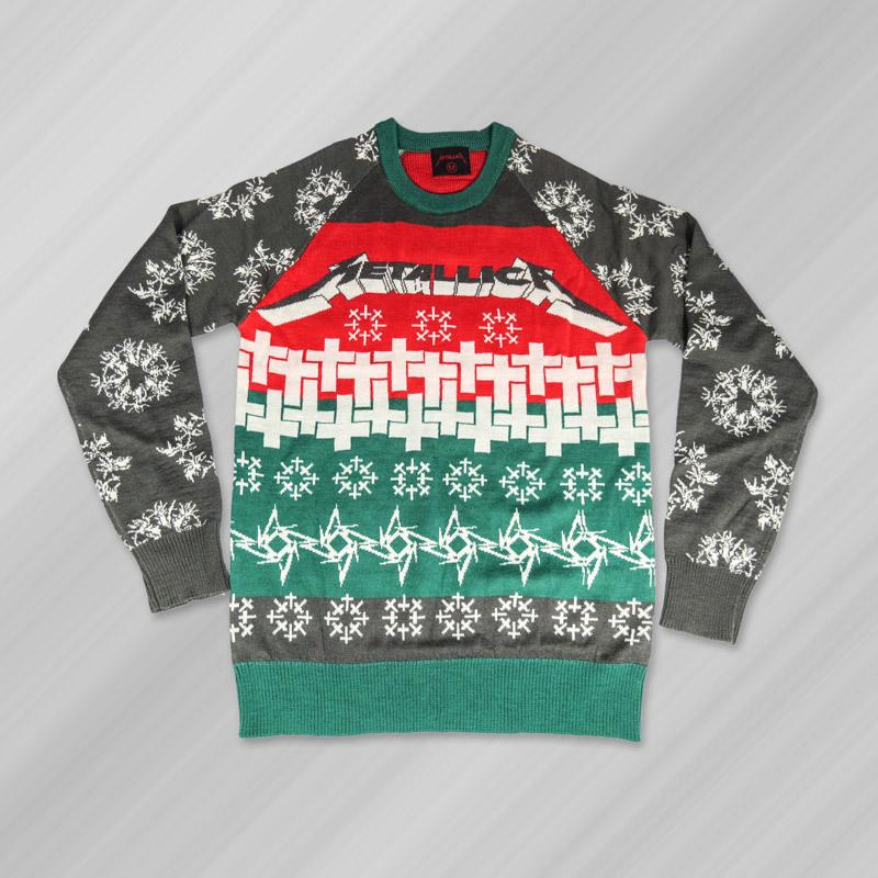 Metallica xmas christmas jumper master-holiday-sweater_lg