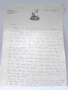 Michael Katon letter