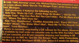 Michael Katon mail order advert