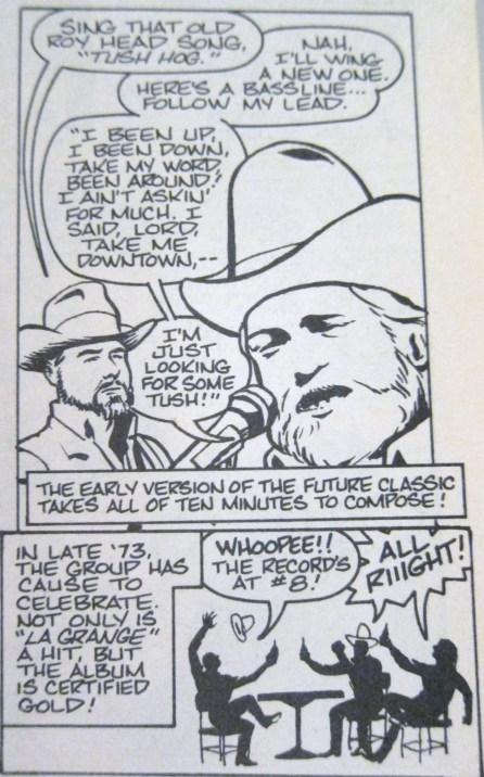ZZ Top Tush comics
