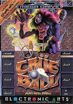 Crüe_Ball_Cover sega megadrive