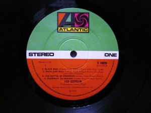 The '80s Green Atlantic label - this is Led Zep IV