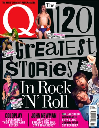 Q Magazine 120 Greatest Stories