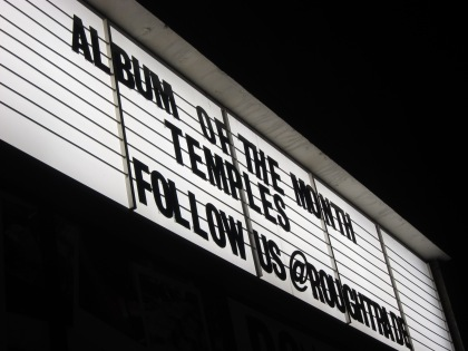 Temples Album of the month at Rough Trade