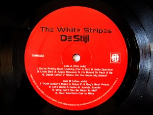 The White Stripes De Stijl TMR 32 record label