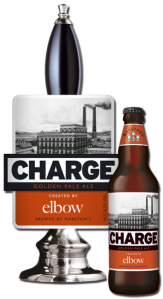 charge elbow beer