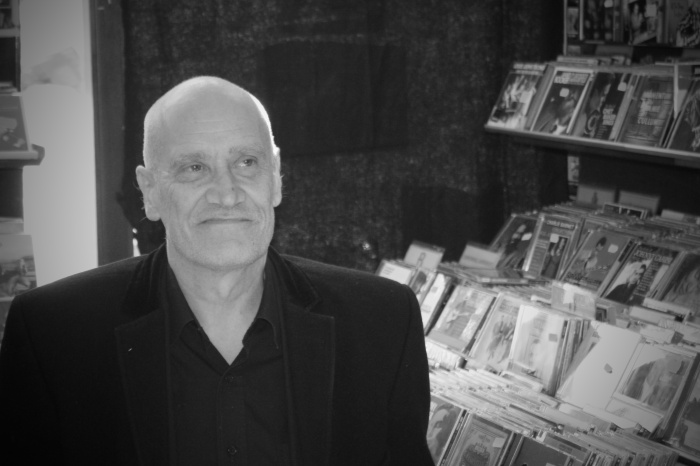 Wilko Johnson at Fives Records, Leigh on Sea yesterday