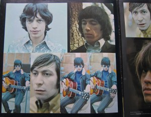 The inside cover of The Rolling Stones' High Tide and Green Grass