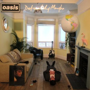 Oasis Definitely Maybe cover Exhibition