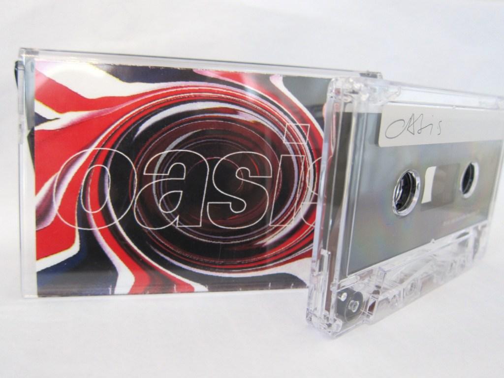 The legendary Oasis demo cassette