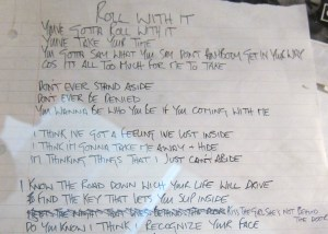 Oasis Roll With It Lyrics