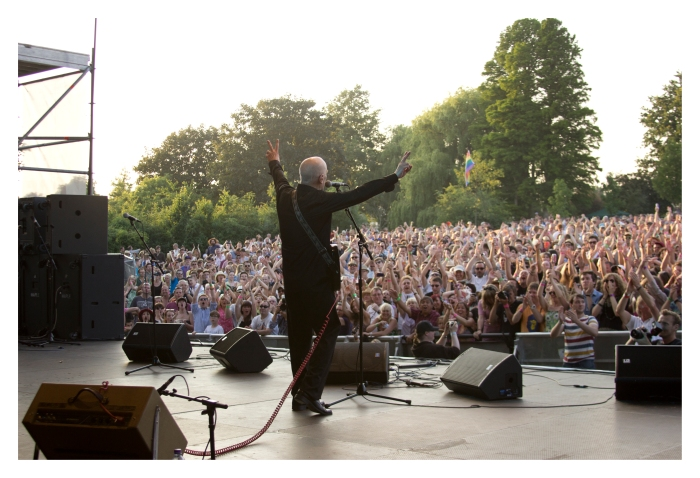 Wilko Johnson at 2013's Village Green Festival