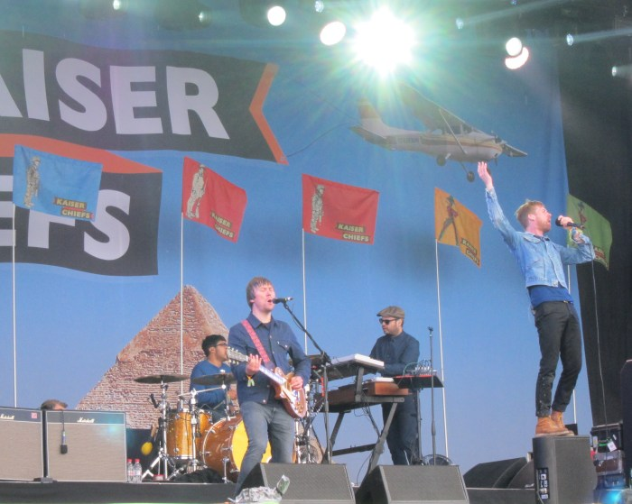 Kaiser Chiefs Glastonbury 2014 (2)