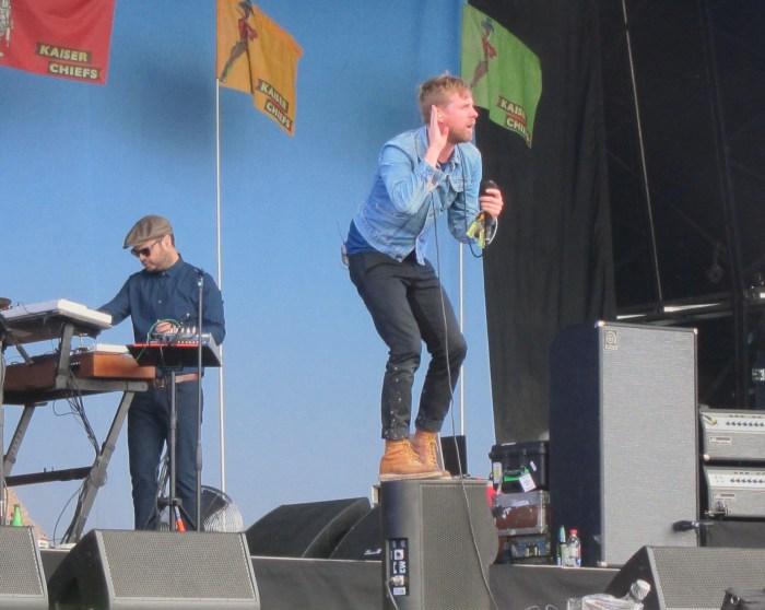 Ricky Wilson Kaiser Chiefs Glastonbury 2014