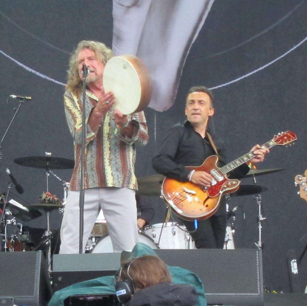 Robert Plant at Glastonbury 2014 IMG_1454