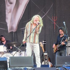 Robert Plant played a stunning set on the Saturday at Glastonbury