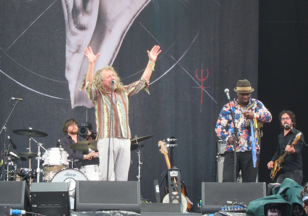 Robert Plant at Glastonbury 2014 IMG_1482